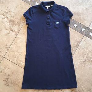 d3abcf6a0 Lacoste Dresses - Lacoste kids navy pique polo dress girls size 12